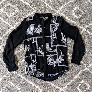 ⚡3/$20⚡ Forever 21 blouse sz: S